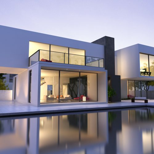 Modern house with pool Inspiration